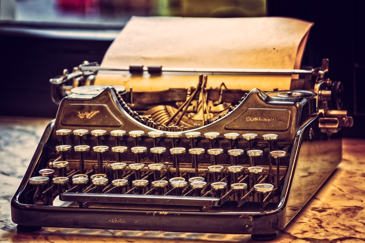 Machine a ecrire pour blog freelance